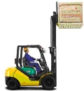 Where to rent FORKLIFT, INDUST 5,000  INV in Burton MI