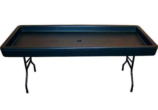 Where to rent CHILLING TABLE BLACK INV in Flint MI, Burton MI and Genesee County