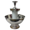 Where to rent 3 TIER PUNCH FOUNTAIN GOLD TRIM in Burton MI