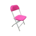 Where to rent CHAIR, KID SIZE  PINK in Burton MI