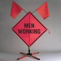 Rental store for MEN AT WORK SIGN STAND 48 in Flint MI